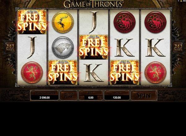 Game of Thrones Machine a Sous Gratuit (243 Lignes) Microgaming