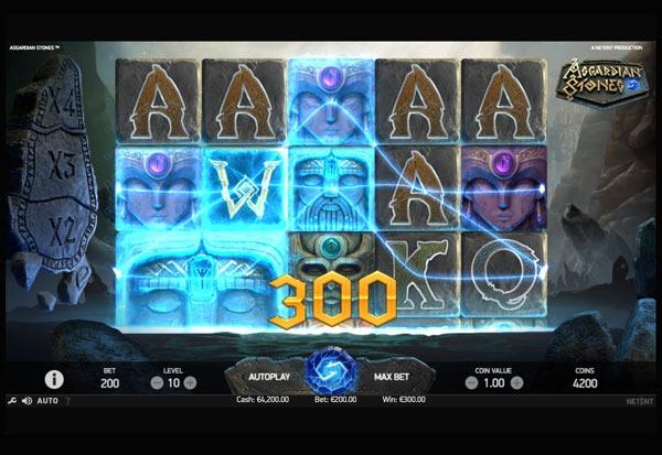 Asgardian Stones Machine à Sous Gratuit (20 Lignes) Netent