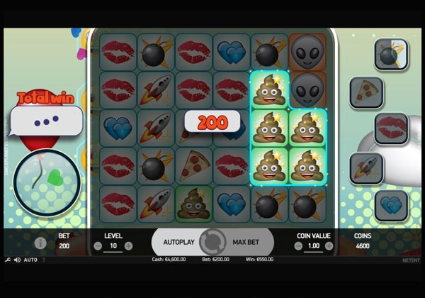 Emoji Planet Machine à Sous Gratuit (20 Lignes) Netent