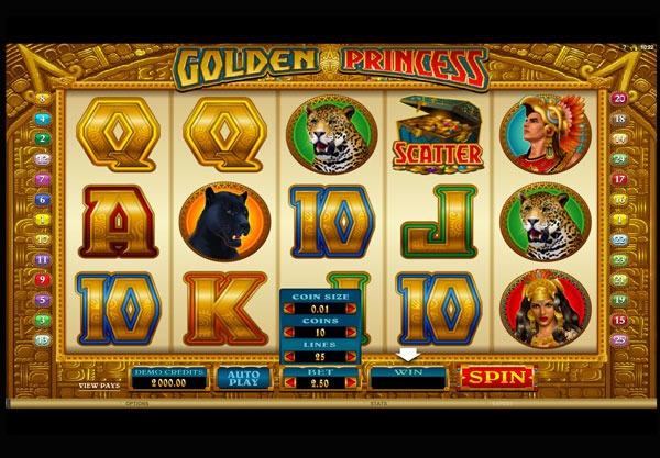 Golden Princess Machine à Sous Gratuit
