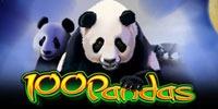 100 Pandas Jouer Machine à Sous