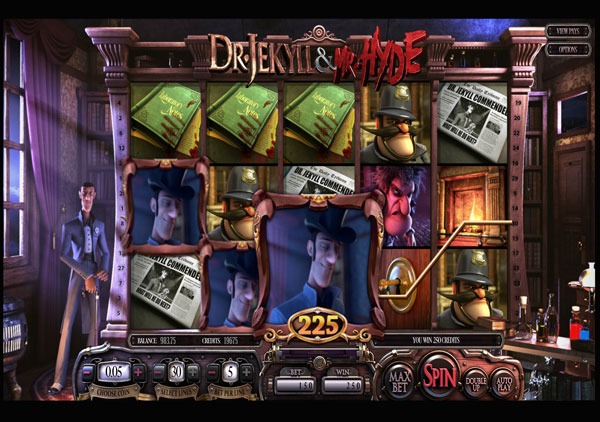Dr Jekyll and Mr Hyde Machine à Sous Gratuit (30 Lignes) Betsoft