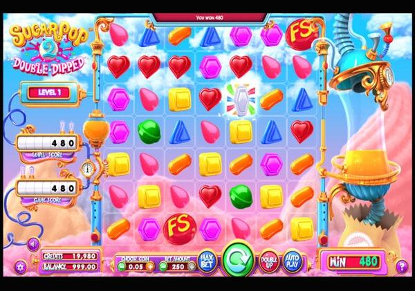 Sugar Pop 2 Machine à Sous Gratuit (3D Slot) Betsoft
