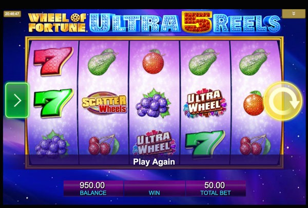 Wheel Of Fortune: Ultra 5 Reels Machine à Sous Gratuit (30 Lignes) IGT