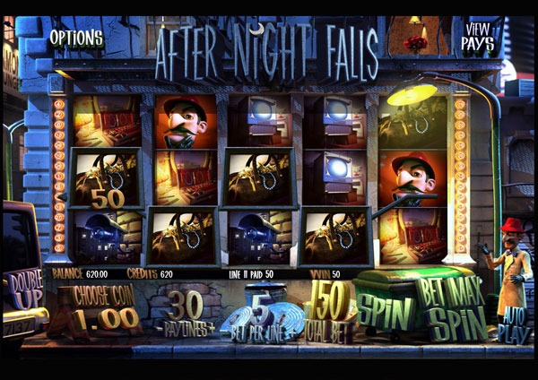 After Night Falls Machine à Sous Gratuit (30 Lignes) Betsoft