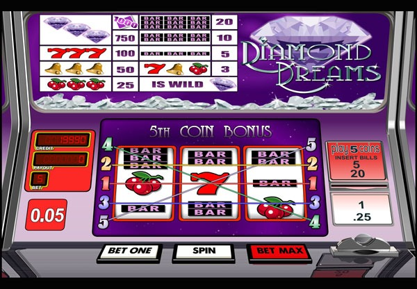 Diamond Dreams Machine à Sous Gratuit (5 Lignes) Betsoft