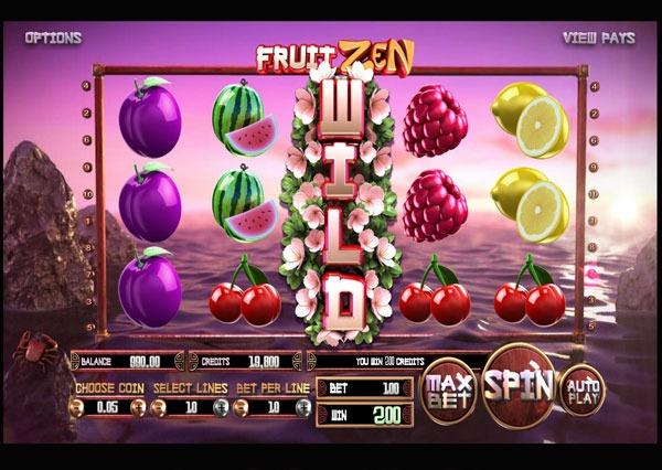 Fruit Zen Machine à Sous Gratuit (10 Lignes) Betsoft