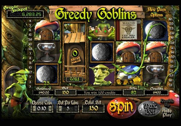 Greedy Goblins Machine à Sous Gratuit (30 Lignes) Betsoft