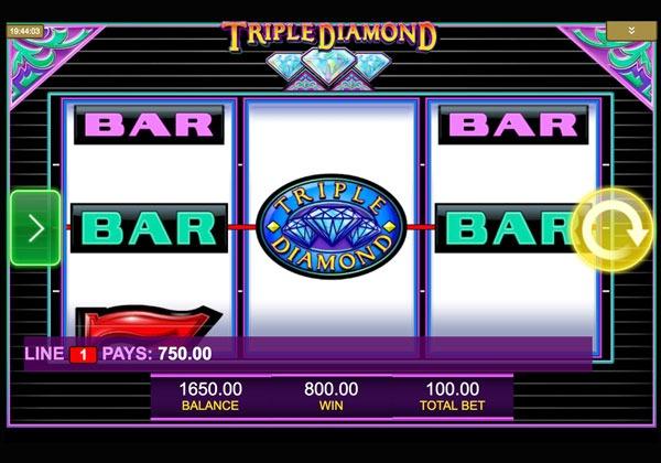 Triple Diamond Machine à Sous Gratuit (9 Lignes) IGT