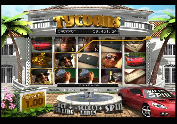 Tycoons Machine à Sous Gratuit (30 Lignes) Betsoft