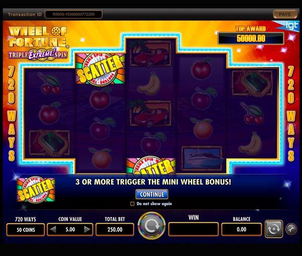 Wheel of Fortune Machine à Sous Gratuit (720 Lignes) IGT