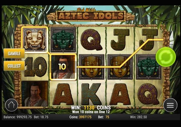 Aztec Idols Machine à Sous Gratuit (15 Lignes) Play`n GO