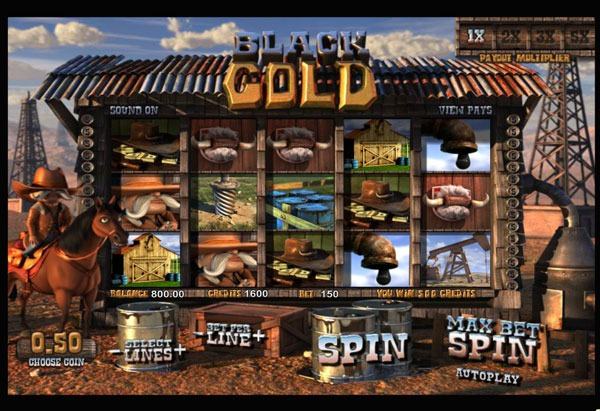 Black Gold Machine à Sous Gratuit (30 Lignes) Betsoft Sans Inscription