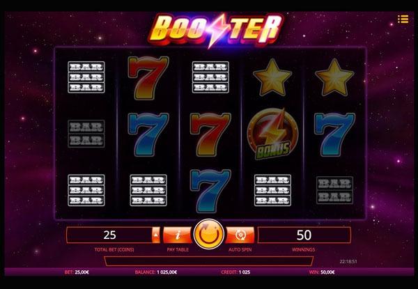Booster Machine à Sous Gratuit (25 Lignes) Isoftbet Sans Inscription