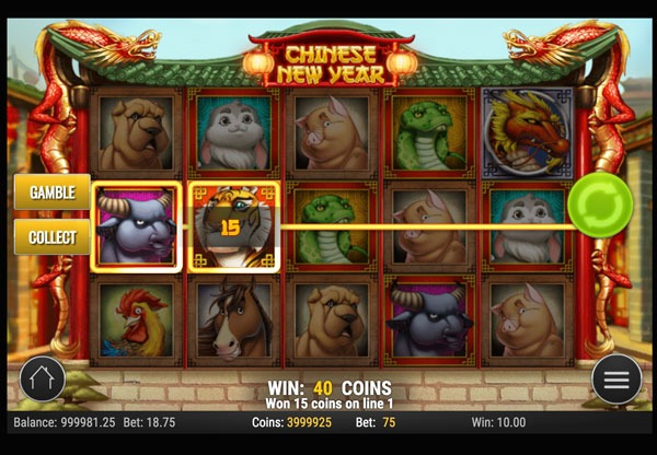 Chinese New Year Machine à Sous Gratuit (15 Lignes) Play`n GO