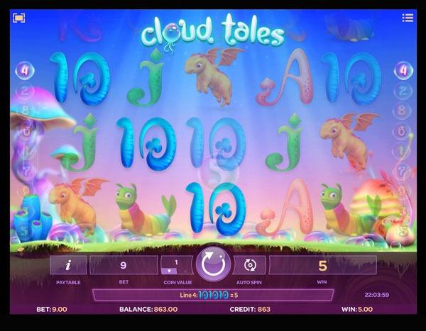 Cloud Tales Machine à Sous Gratuit (9 Lignes) Isoftbet Sans Inscription