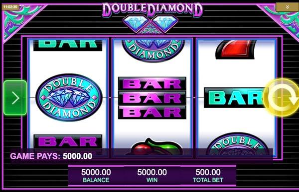 Double Diamond Machine à Sous Gratuit (3 Rouleaux) IGT