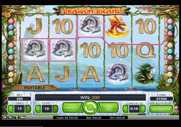 Dragon Island Machine à Sous Gratuit (30 Lignes) Netent Sans Inscription