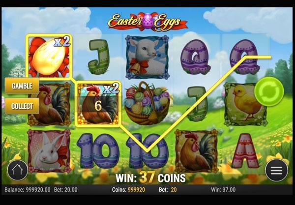 Easter Eggs Machine à Sous Gratuit (20 Lignes) Play`n GO