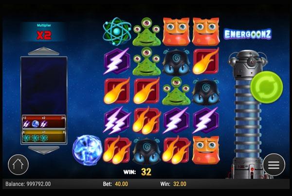 Energoonz Machine à Sous Gratuit (30 Lignes) Play`n GO