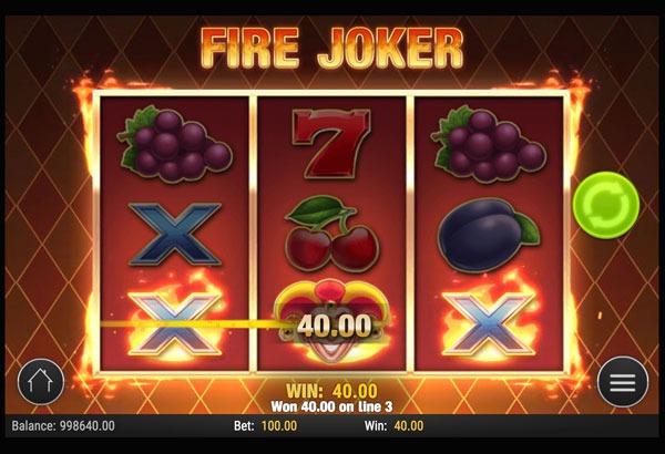 Fire Joker Machine à Sous Gratuit (5 Lignes) Play`n GO