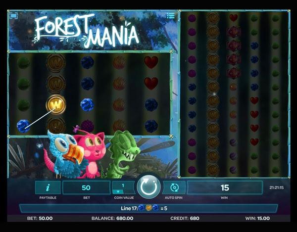 Forest Mania Machine à Sous Gratuit (100 Lignes) Isoftbet Sans Inscription