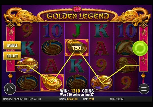 Golden Legend Machine à Sous Gratuit (50 Lignes) Play`n GO