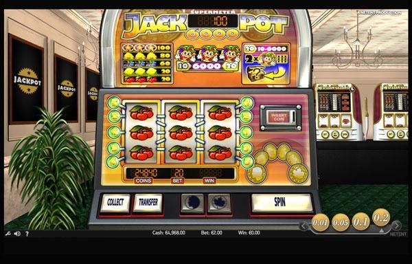 Jackpot 6000 Machine à Sous Gratuit (10 Lignes) Netent Sans Inscription