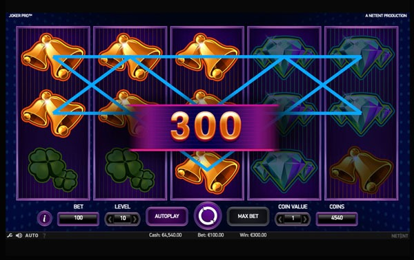 Joker Pro Machine à Sous Gratuit (10 Lignes) Netent Sans Inscription