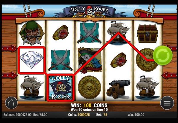 Jolly Roger Machine à Sous Gratuit (15 Lignes) Play`n GO