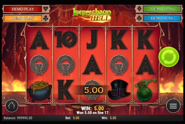 Leprechaun goes to Hell Machine à Sous Gratuit (25 Lignes) Play`n GO