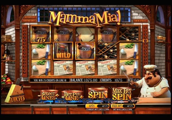 Mamma Mia Machine à Sous Gratuit (30 Lignes) Betsoft Sans Inscription
