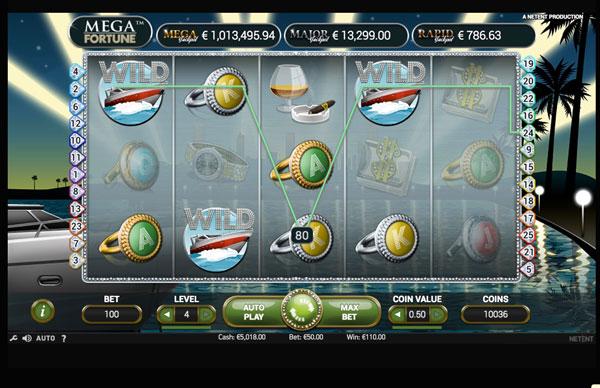 Mega Fortune Machine à Sous Gratuit (20 Lignes) Netent Sans Inscription