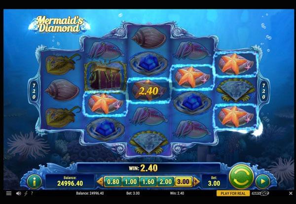 Mermaid's Diamond Machine à Sous Gratuit (720 Lignes) Play`n GO