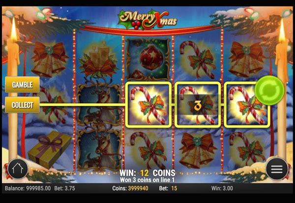 Merry Xmas Machine à Sous Gratuit (15 Lignes) Play`n GO
