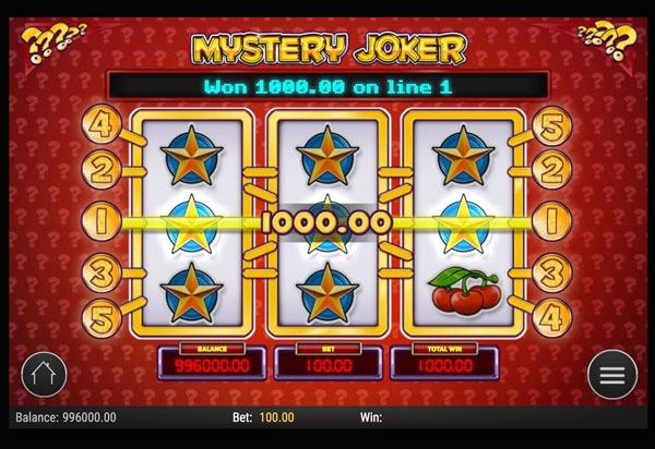 Mystery Joker Machine à Sous Gratuit (5 Lignes) Play`n GO