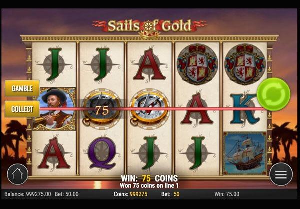 Sails of Gold Machine à Sous Gratuit (10 Lignes) Play`n GO