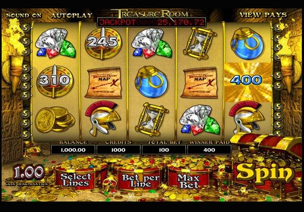 Treasure Room Machine à Sous Gratuit (20 Lignes) Betsoft