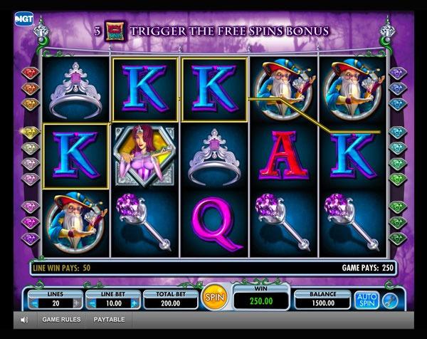 Diamond Queen Machine à Sous Gratuit (20 Lignes) IGT Sans Inscription