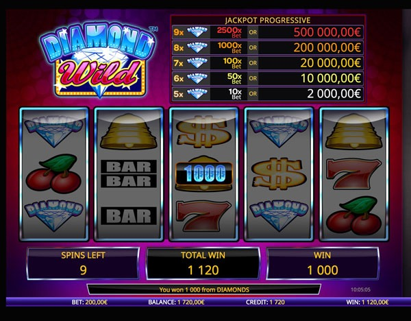 Diamond Wild Machine à Sous Gratuit (20 Lignes) Isoftbet Sans Inscription