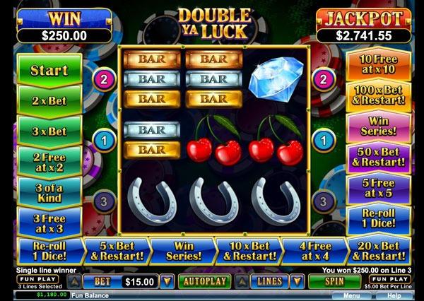 Double Ya Luck Machine à Sous Gratuit (3 Lignes) RTG Sans Inscription