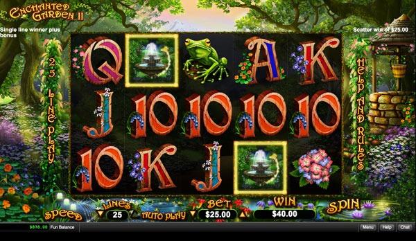 Enchanted Garden 2 Machine à Sous Gratuit (25 Lignes) RTG