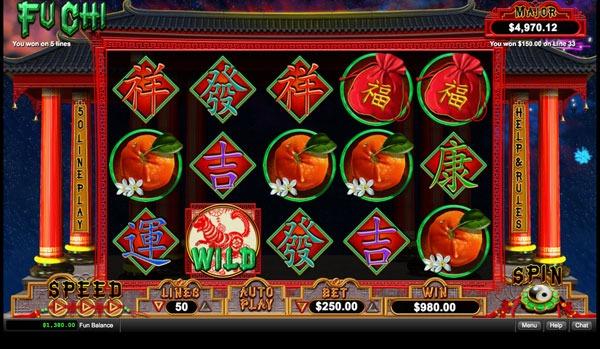 Fu Chi Machine à Sous Gratuit (50 Lignes) RTG Sans Inscription