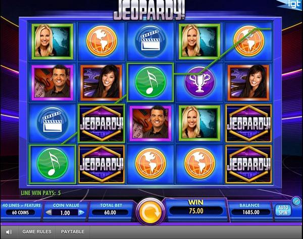 Jeopardy! Machine à Sous Gratuit (40 Lignes) IGT Sans Inscription