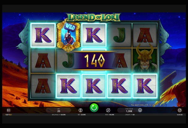 Legend of Loki Machine à Sous Gratuit (20 Lignes) Isoftbet