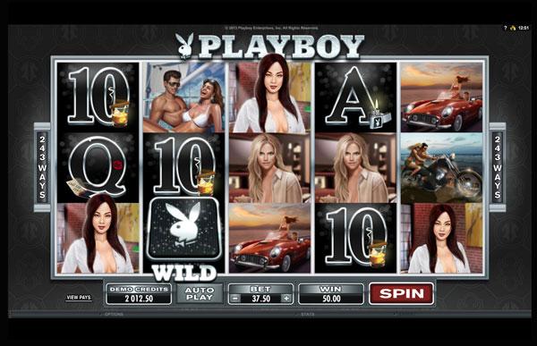 Playboy Machine à Sous Gratuit (243 Lignes) Microgaming