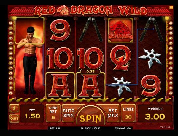 Red Dragon Wild Machine à Sous Gratuit (30 Lignes) Isoftbet
