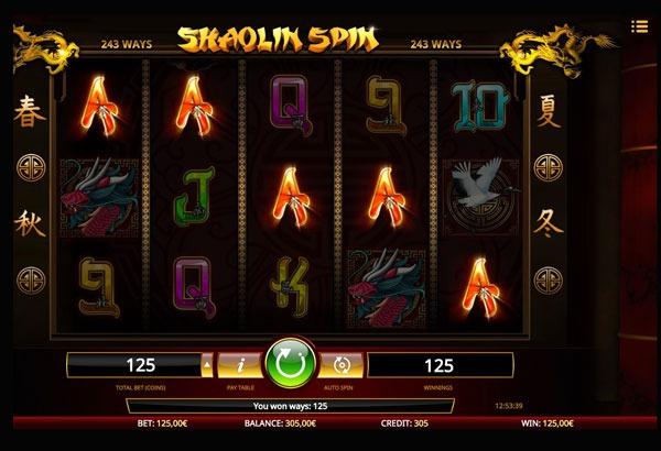 Shaolin Spin Machine à Sous Gratuit (243 Lignes) Isoftbet Sans Inscription