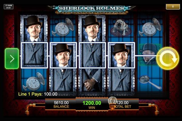 Sherlock Holmes Machine à Sous Gratuit (30 Lignes) IGT