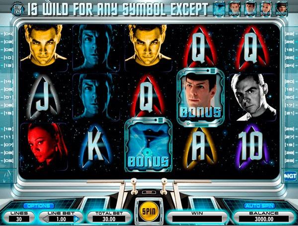 Star Trek Machine à Sous Gratuit (30 Lignes) IGT Sans Inscription